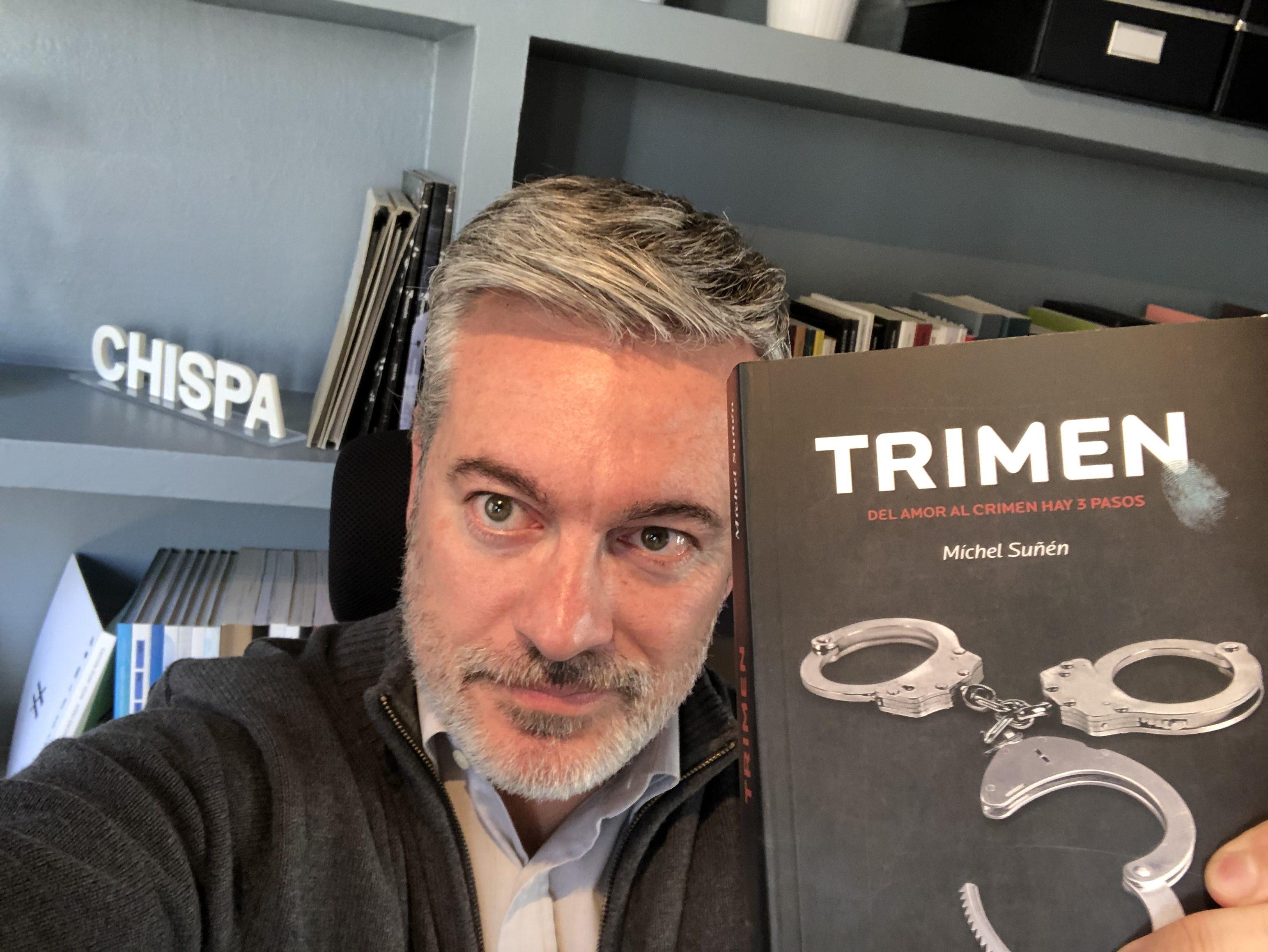 'Trimen', la nueva novela de Míchel Suñén